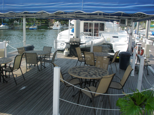 Covered Dock Patio